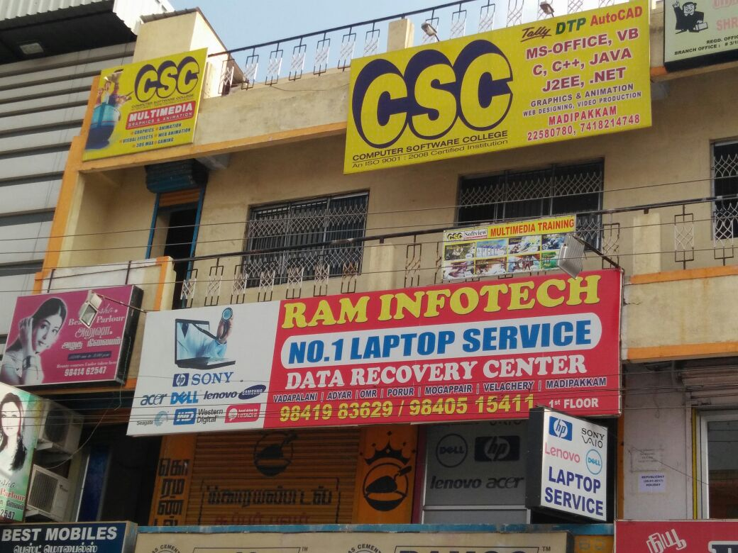 Laptop service and Data Recovery